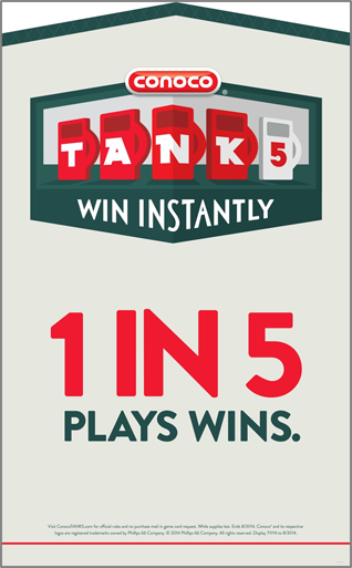 Conoco Welcomes Summer with New TANK5 Promotion!